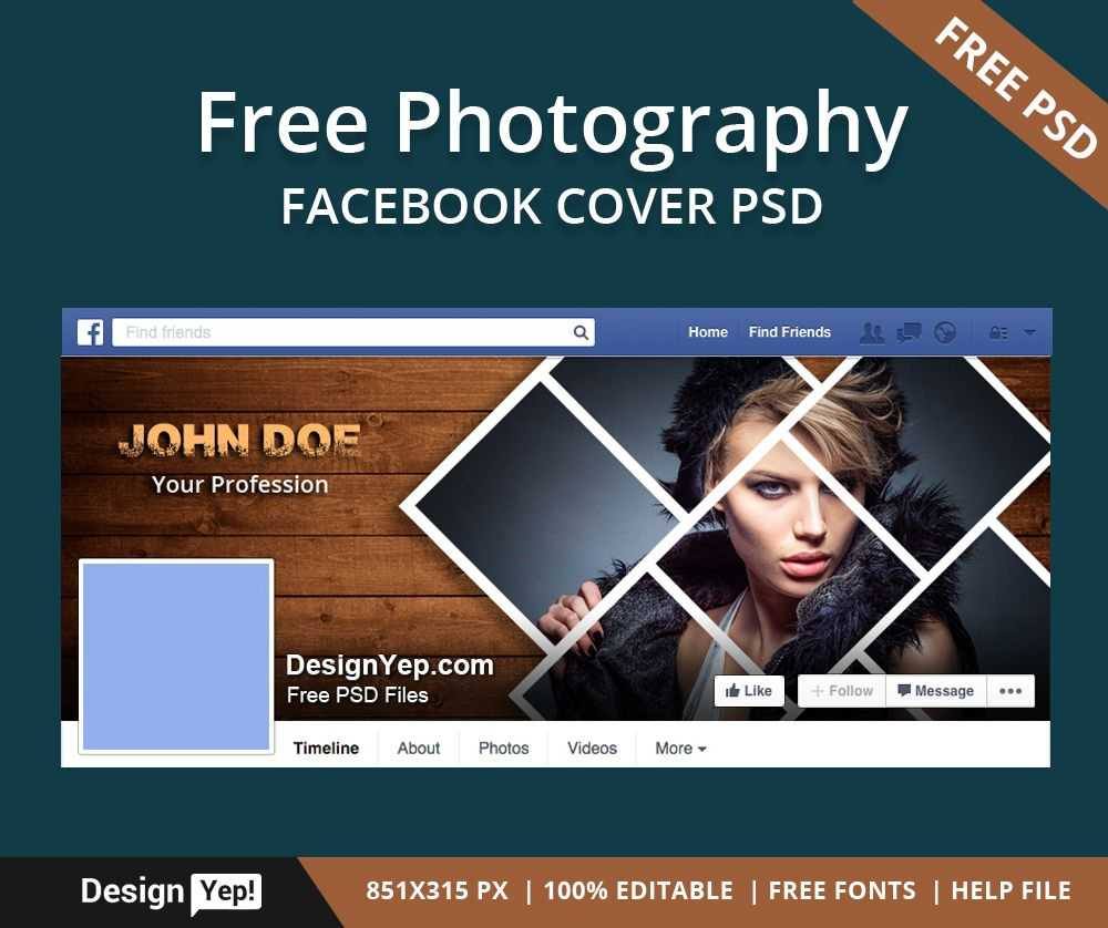 001 Facebook Cover Photoshop Template Phenomenal Ideas Inside Photoshop Facebook Banner Template