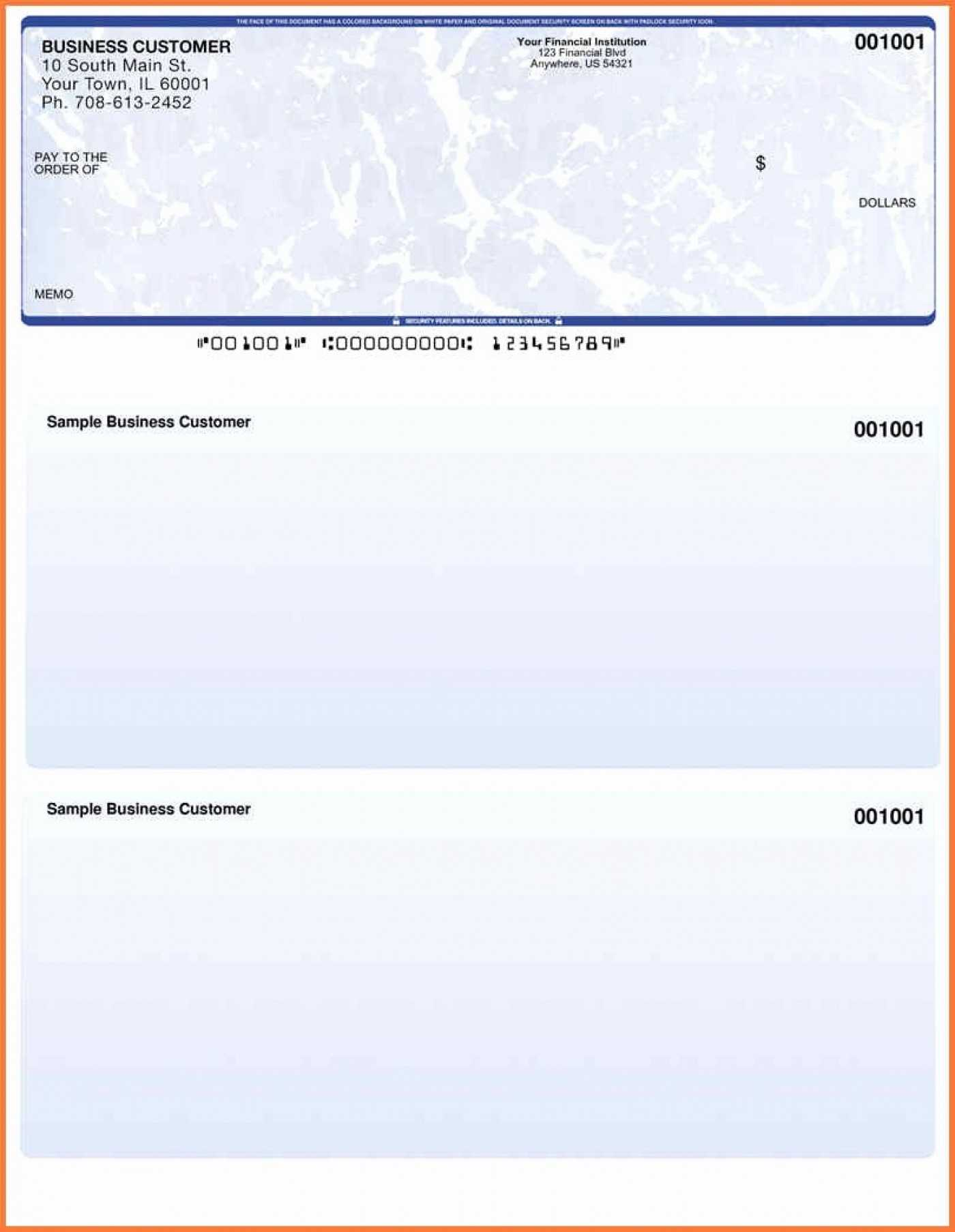 002 Microsoft Word Business Check Template Blank Ideas Pertaining To Blank Business Check Template