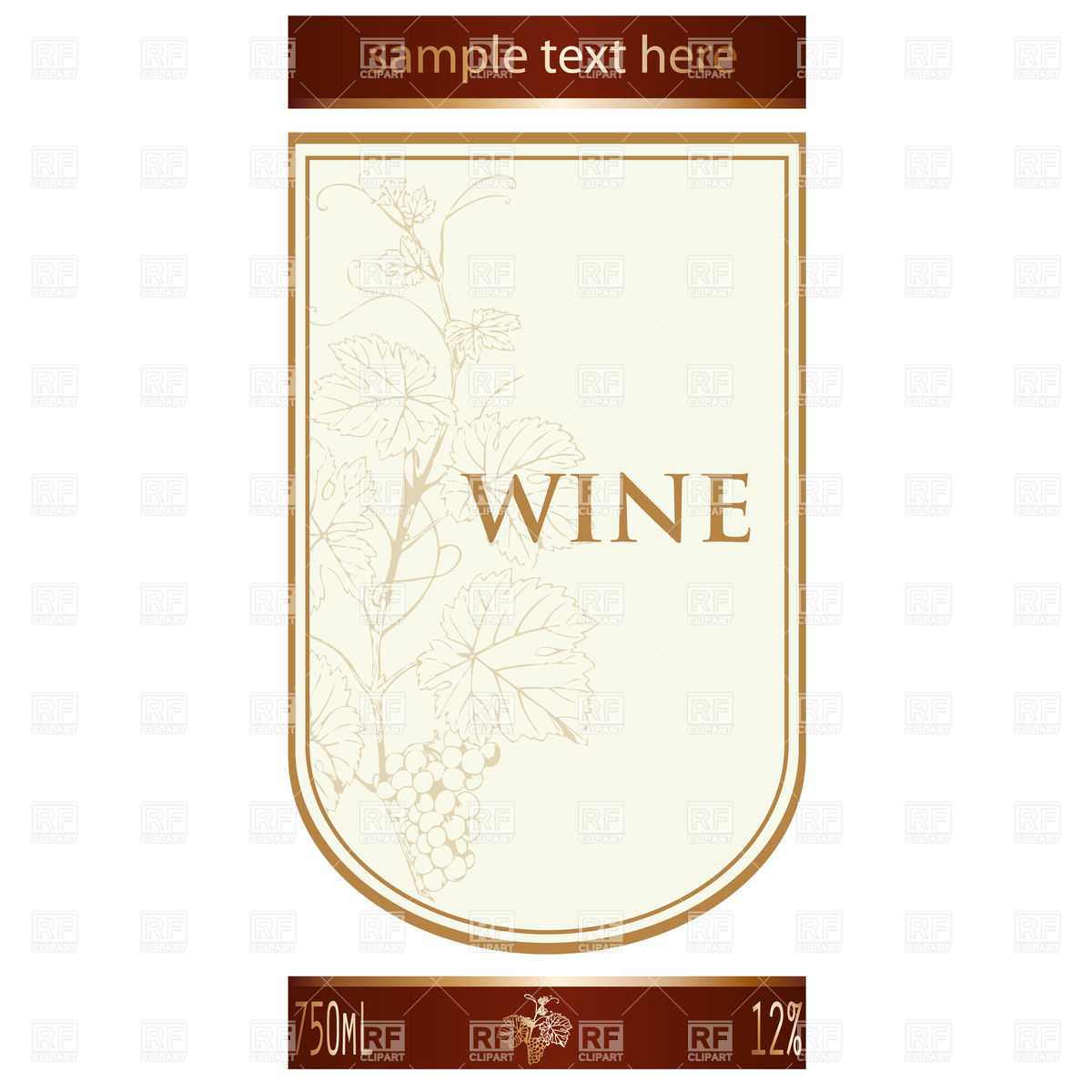 002 Template Ideas Free Wine Label Remarkable Bottle Intended For Blank Wine Label Template