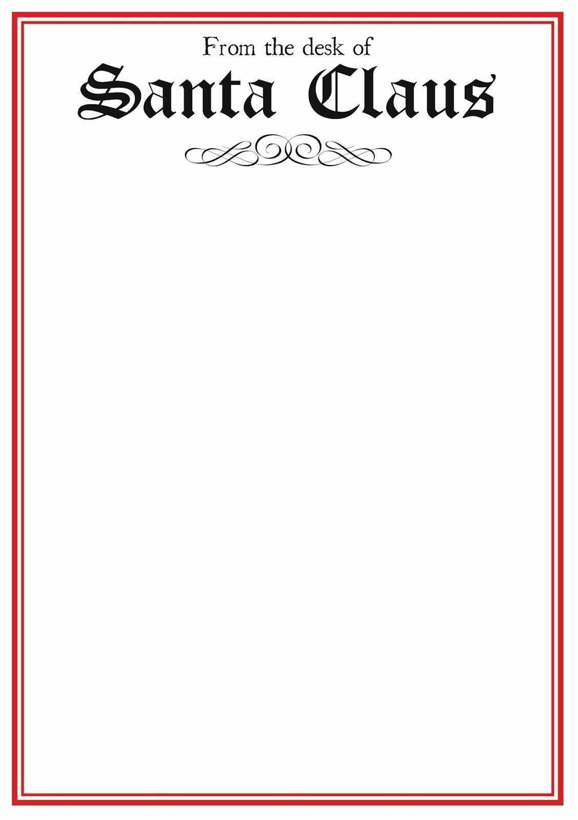 004 Template Ideas Blank Letter From Santa Pdf Cool To Inside Blank Letter From Santa Template