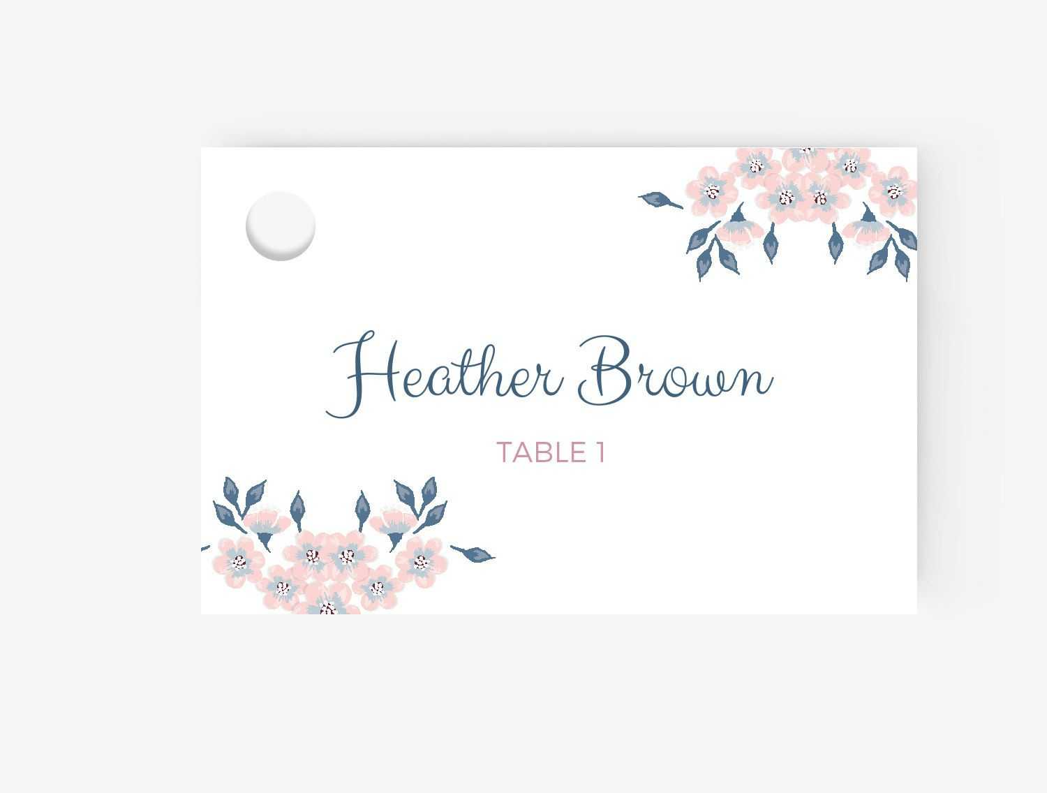 005 Free Place Card Template Ideas Cards Excellent Blank With Regard To Wedding Place Card Template Free Word