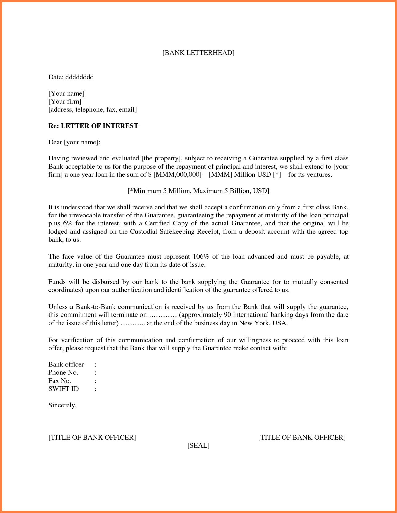 006 Template Ideas Letter Of Interest Microsoft Word Inside Letter Of Interest Template Microsoft Word