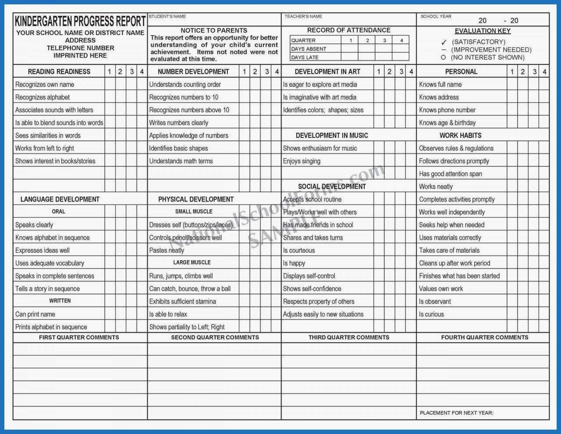009 Homeschool High School Report Card Template Free Inside Homeschool Middle School Report Card Template
