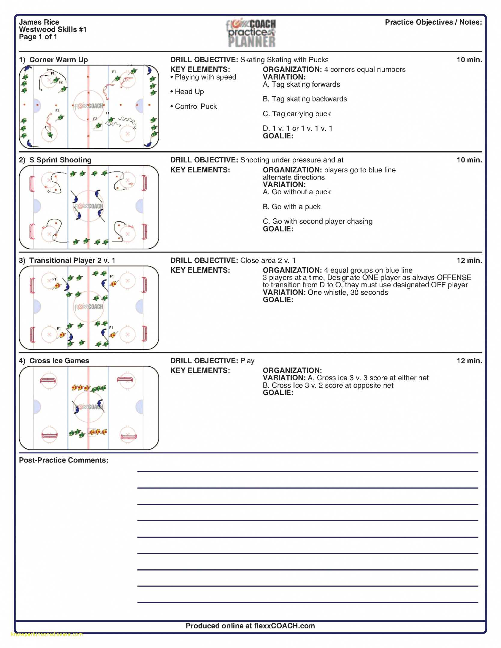 010 Basketball Practice Plans Template Best Top Result Within Blank Hockey Practice Plan Template