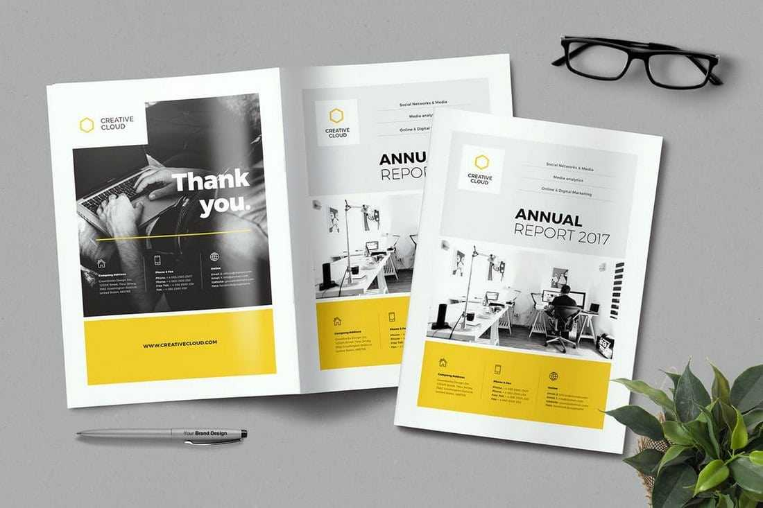 010 Creative Annual Report Template Word Marvelous Ideas In Annual Report Word Template