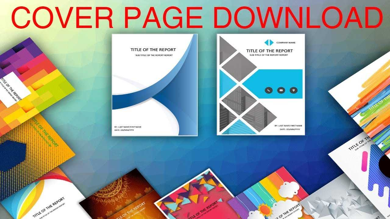 010 Maxresdefault Word Cover Pages Templates Template With Cover Pages For Word Templates