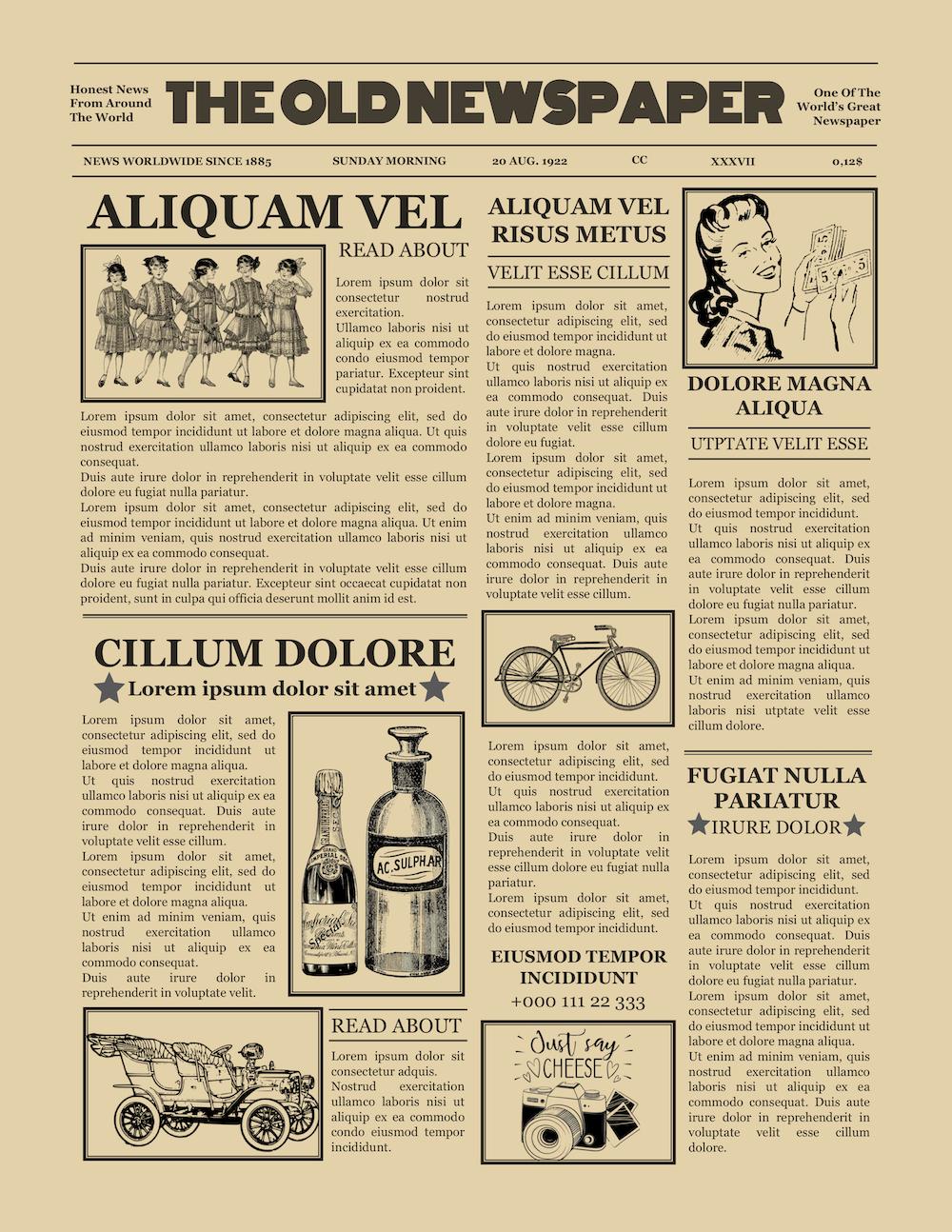 012 Free Old Newspaper Template Microsoft Word Ideas Vintage Pertaining To Old Newspaper Template Word Free