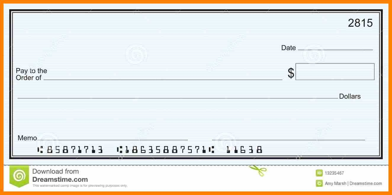 013 Free Printable Checks Template Of Editable Blank Check Inside Blank Cheque Template Download Free