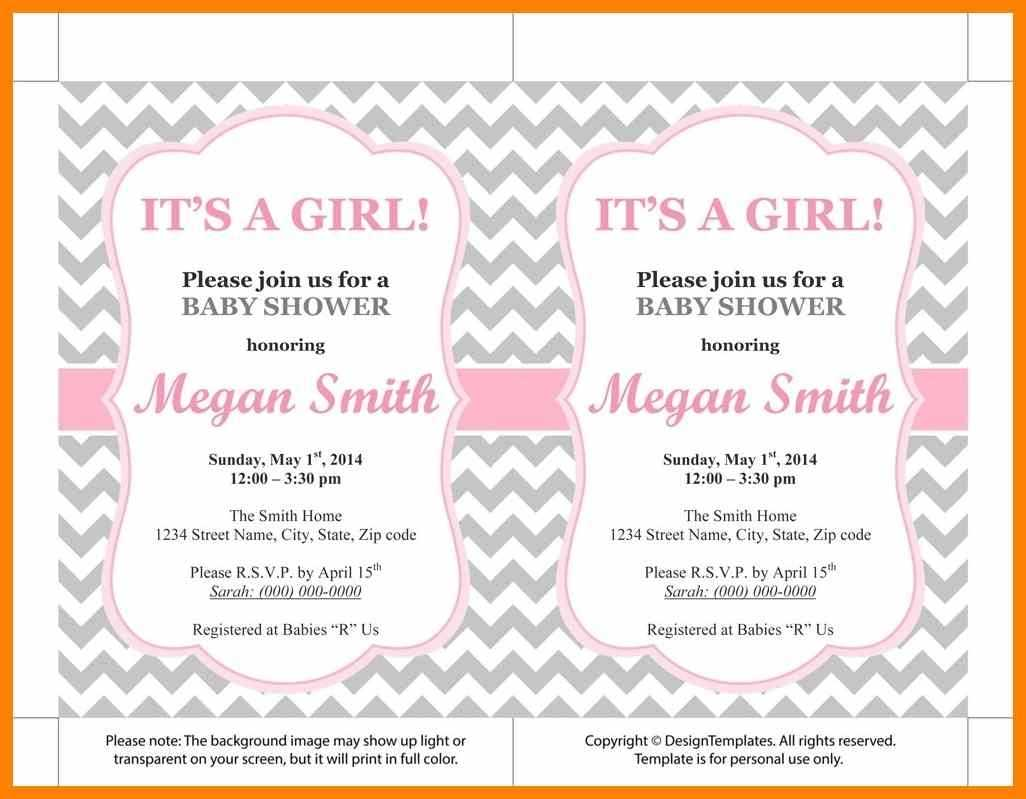 018 Template Ideas Invitation Templates Microsoft Free Baby Intended For Free Baby Shower Invitation Templates Microsoft Word