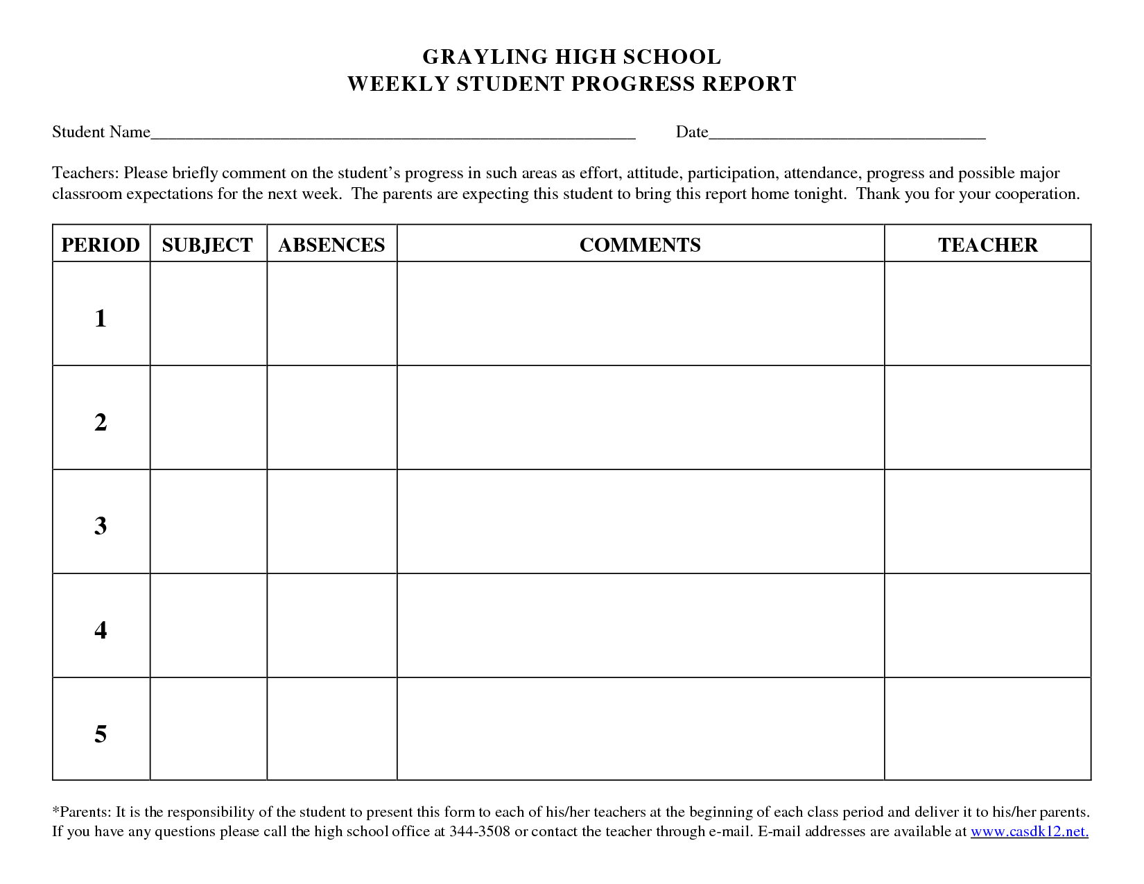 020 Template Ideas Student Progress Report School 412698 With Regard To School Progress Report Template