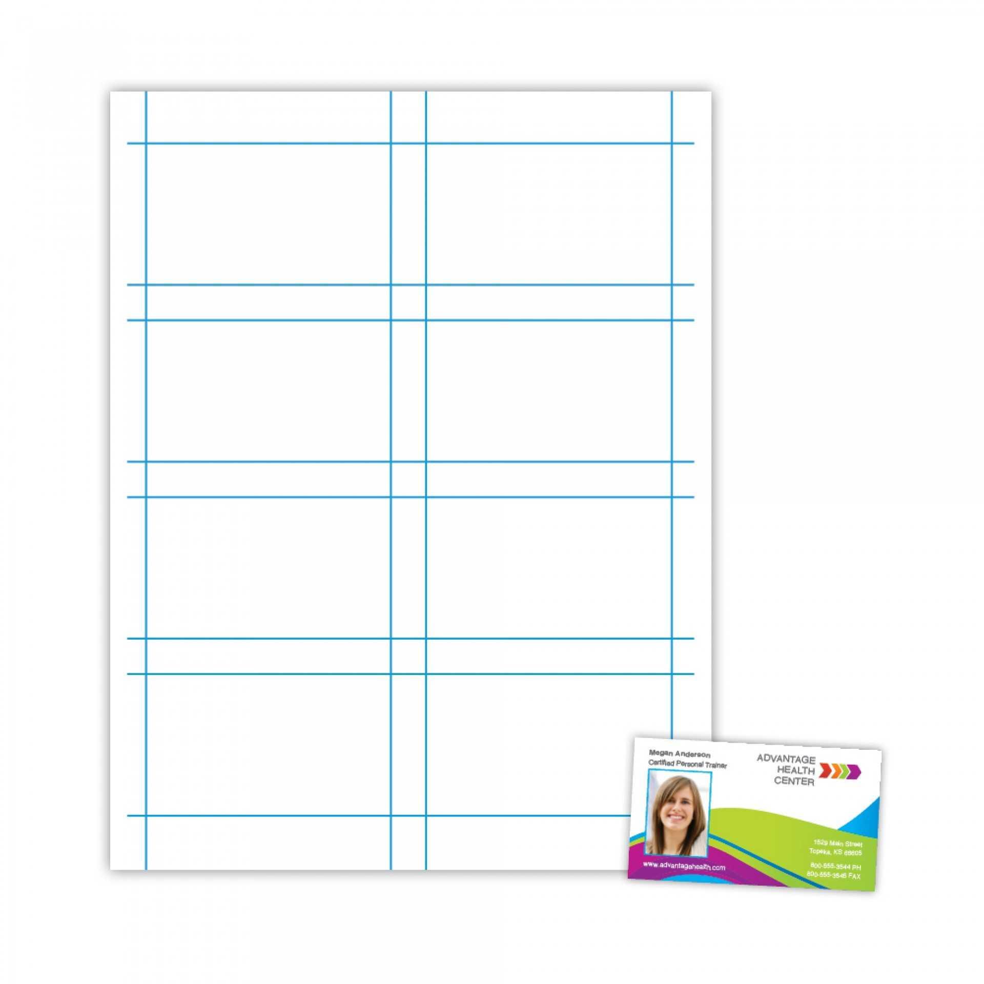 025 Plain Business Card Template Blank Microsoft Word Free With Plain Business Card Template Microsoft Word