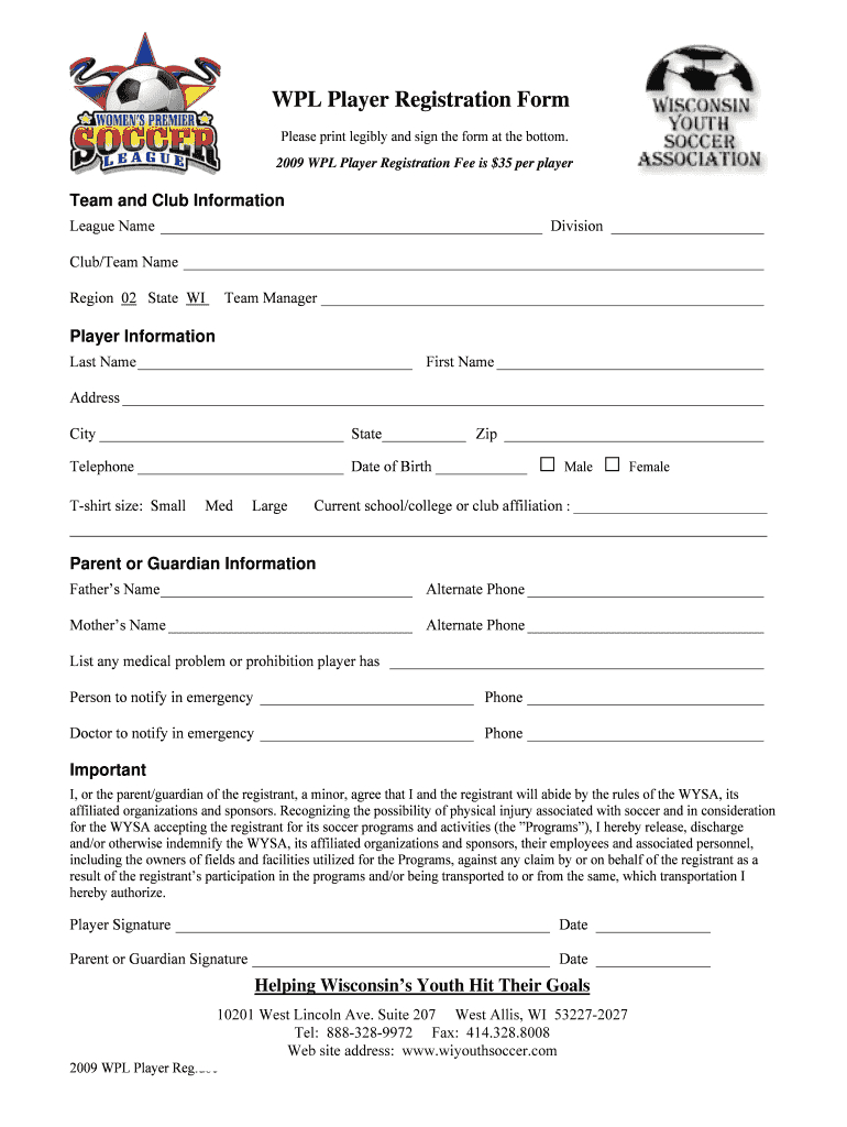 025 Template Ideas Large Free Printable Camp Registration With Regard To Camp Registration Form Template Word