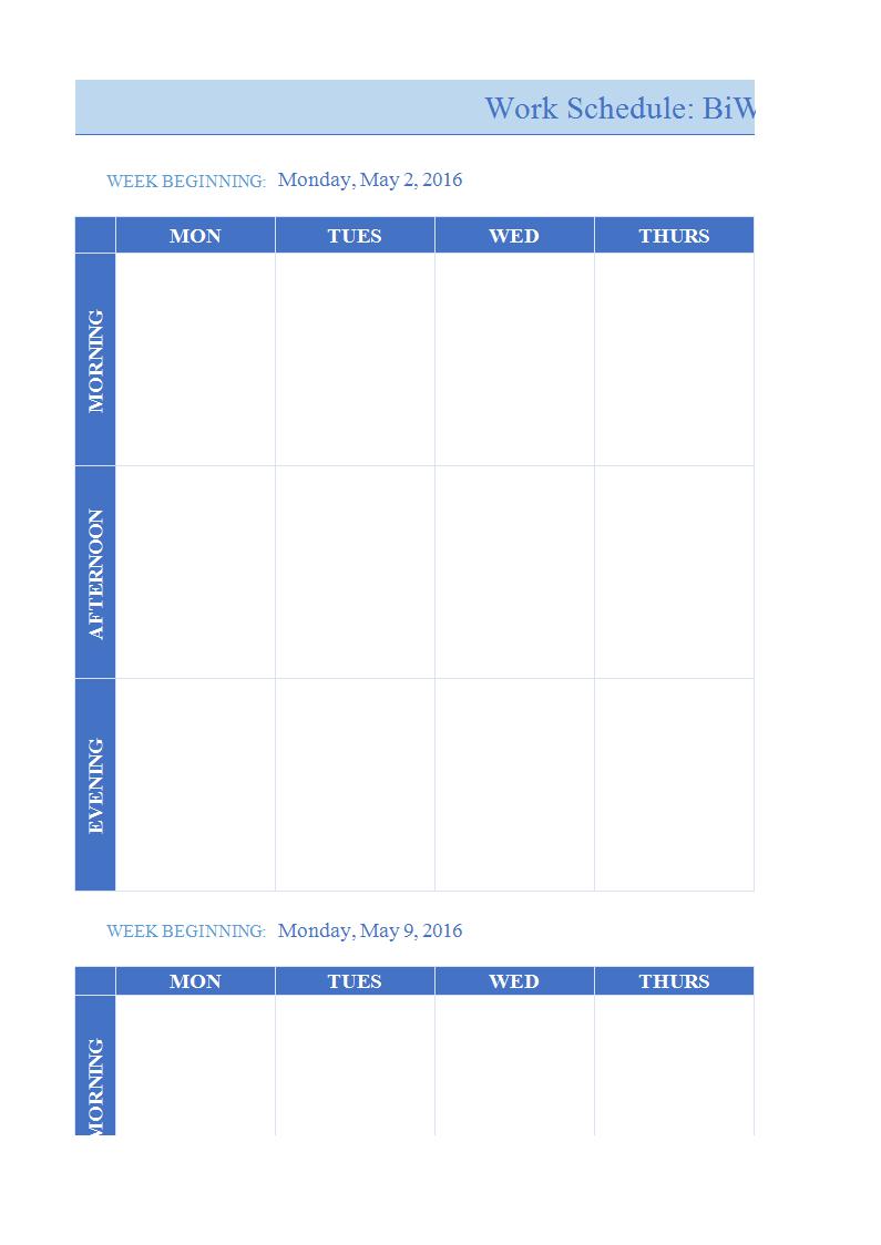 027 Weekly Work Plan Template Word Ideas Calendar Example Inside Work Plan Template Word