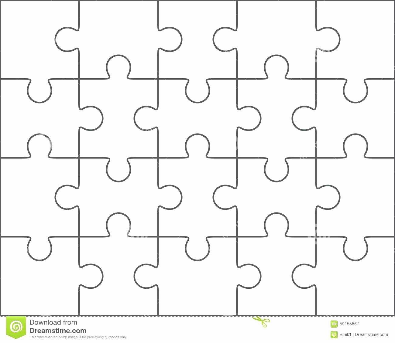 030 Puzzle Pieces Template For Word Best Of Piece Intended Pertaining To Jigsaw Puzzle Template For Word