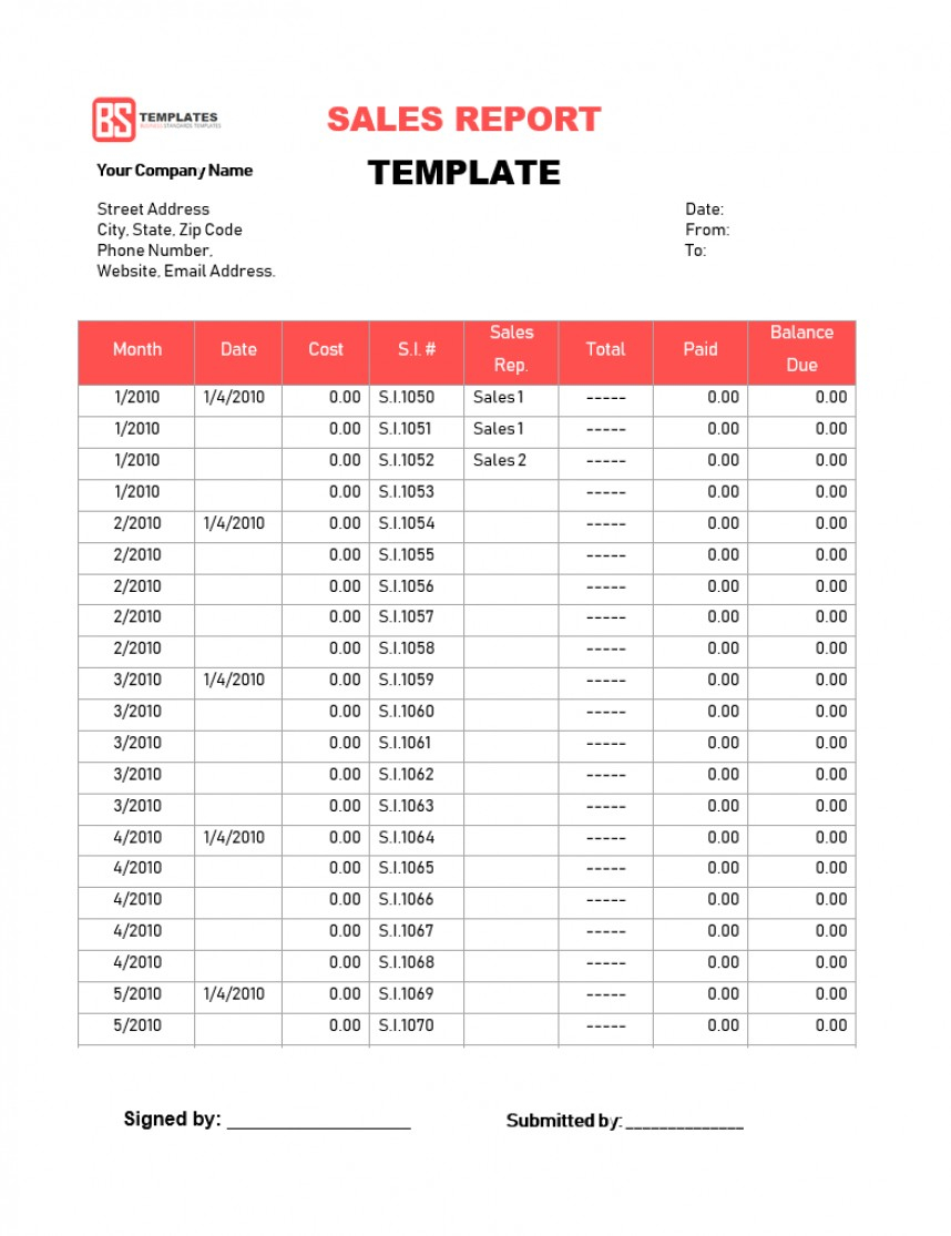 033 Blog How To Do A Weekly Sales Report Graph 1 Monthly Intended For Sale Report Template Excel