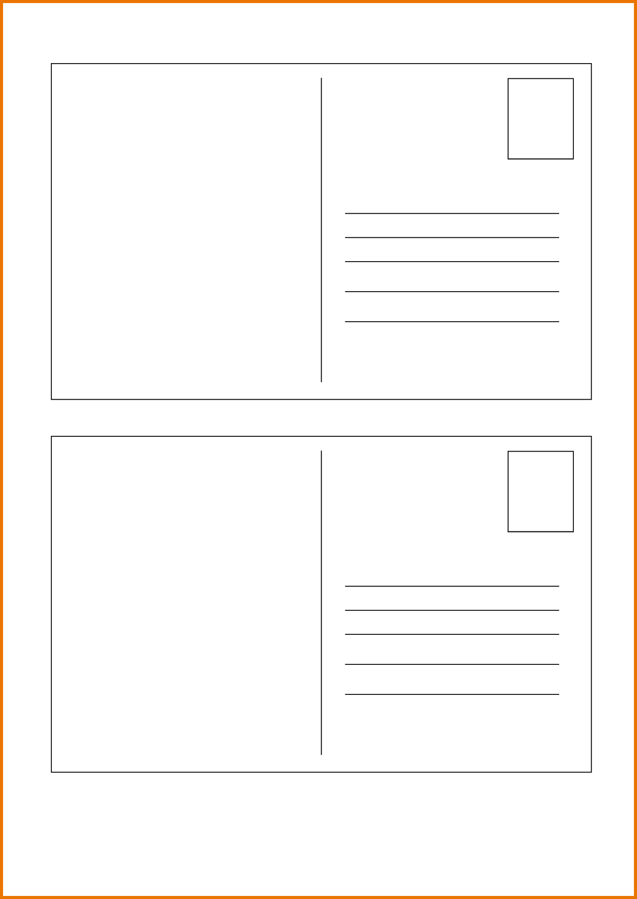 036 Template Ideas Blank Postcard Free Classic White With Pertaining To Microsoft Word 4X6 Postcard Template
