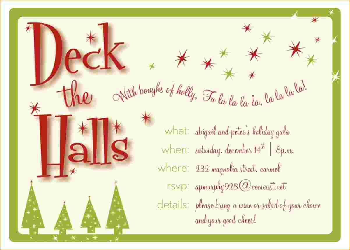 037 Free Holiday Invite Templates Of Christmas Party In Free Christmas Invitation Templates For Word
