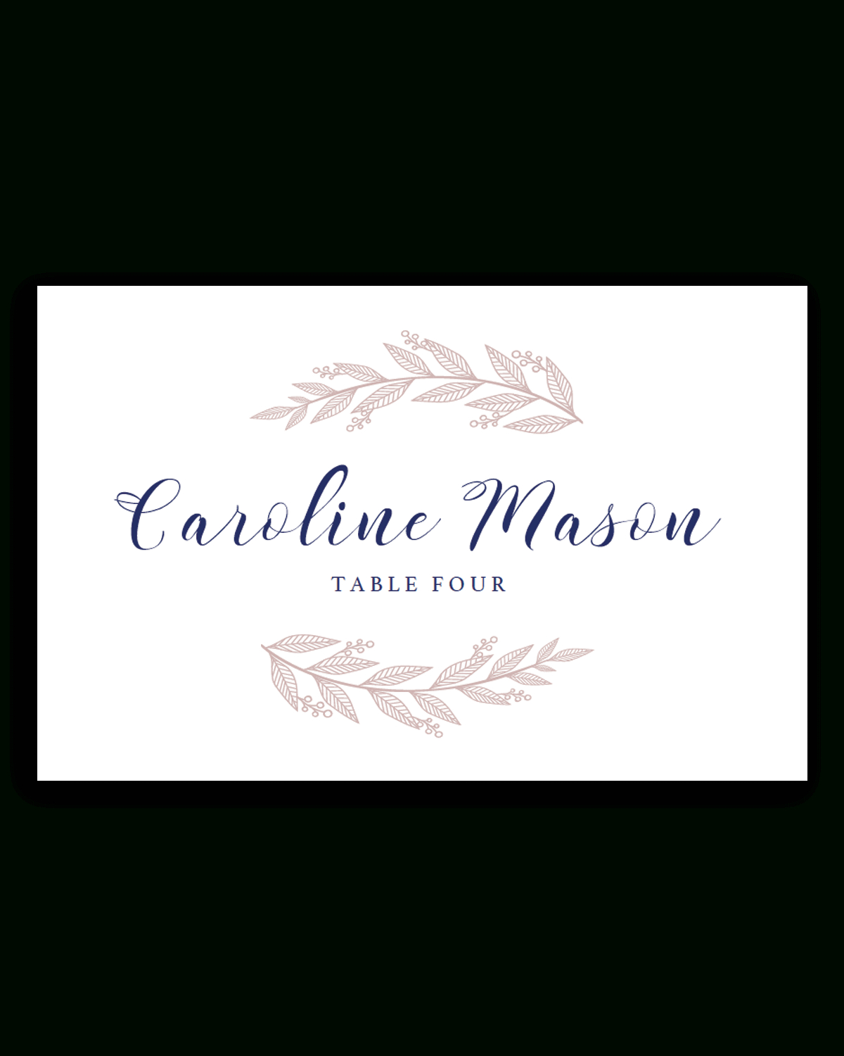 037 Place Card Template Free Best Ideas Download Christmas With Regard To Wedding Place Card Template Free Word