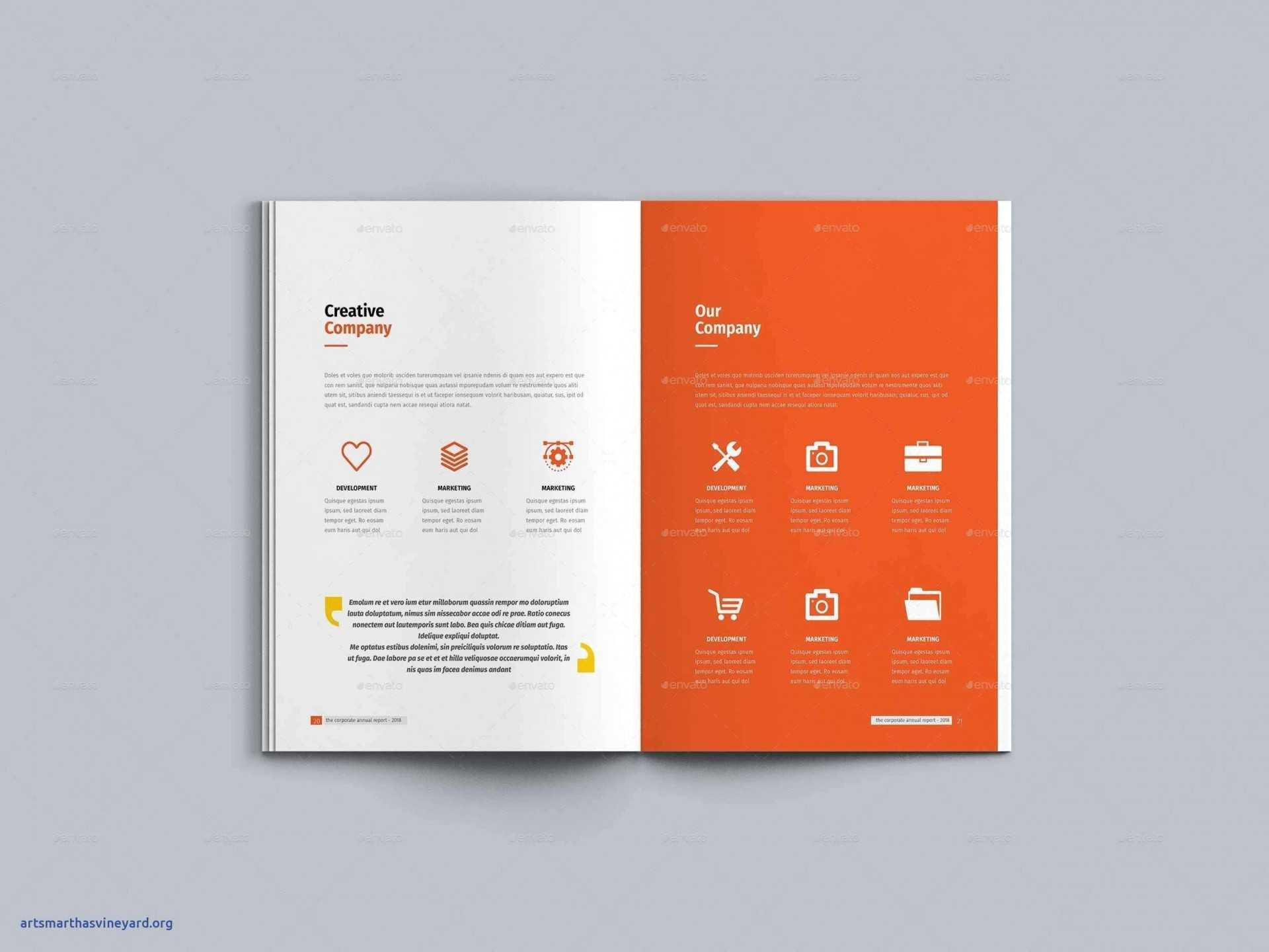 038 Annual Report Template Word Company Profile Brochure For Annual Report Word Template