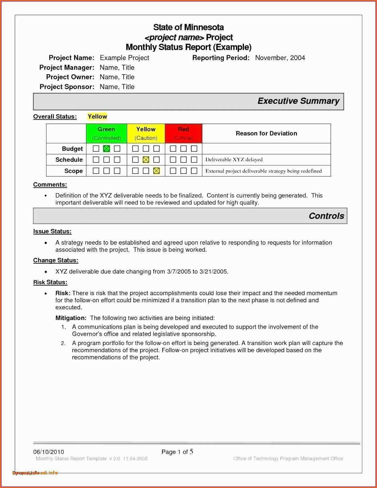 039 Template Ideas Project Status Report Sample Excel Within Project Status Report Template Word 2010