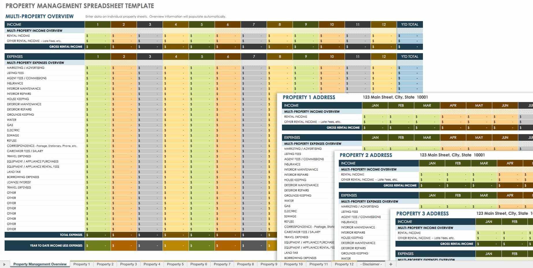 18 Free Property Management Templates   Smartsheet In Property Management Inspection Report Template