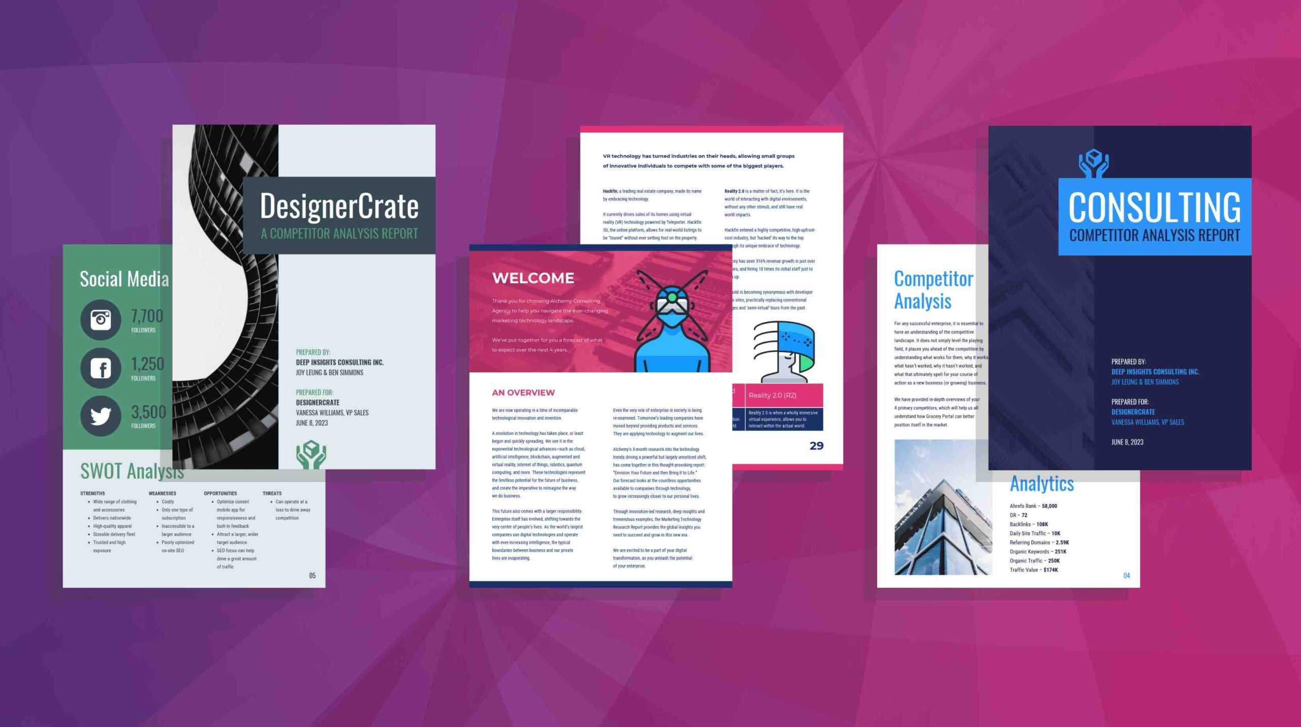 19 Consulting Report Templates That Every Consultant Needs Inside Market Intelligence Report Template