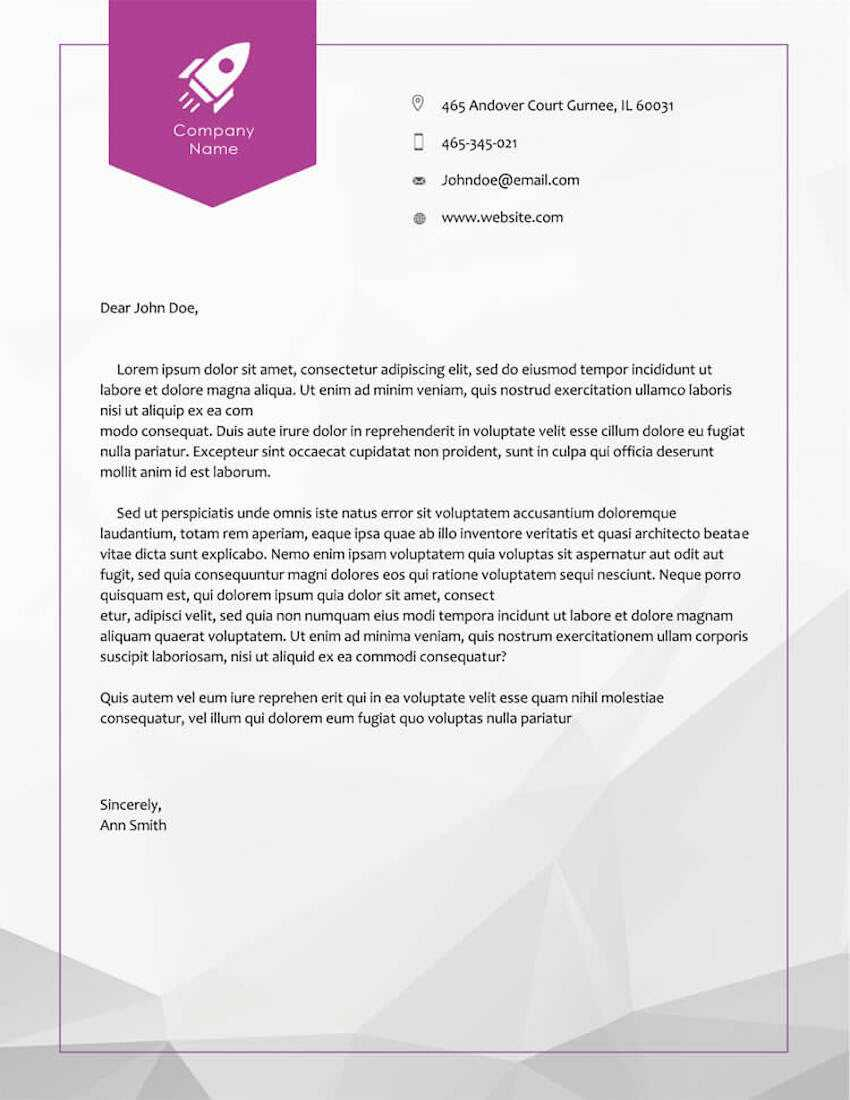 20 Best Free Microsoft Word Corporate Letterhead Templates In Headed Letter Template Word