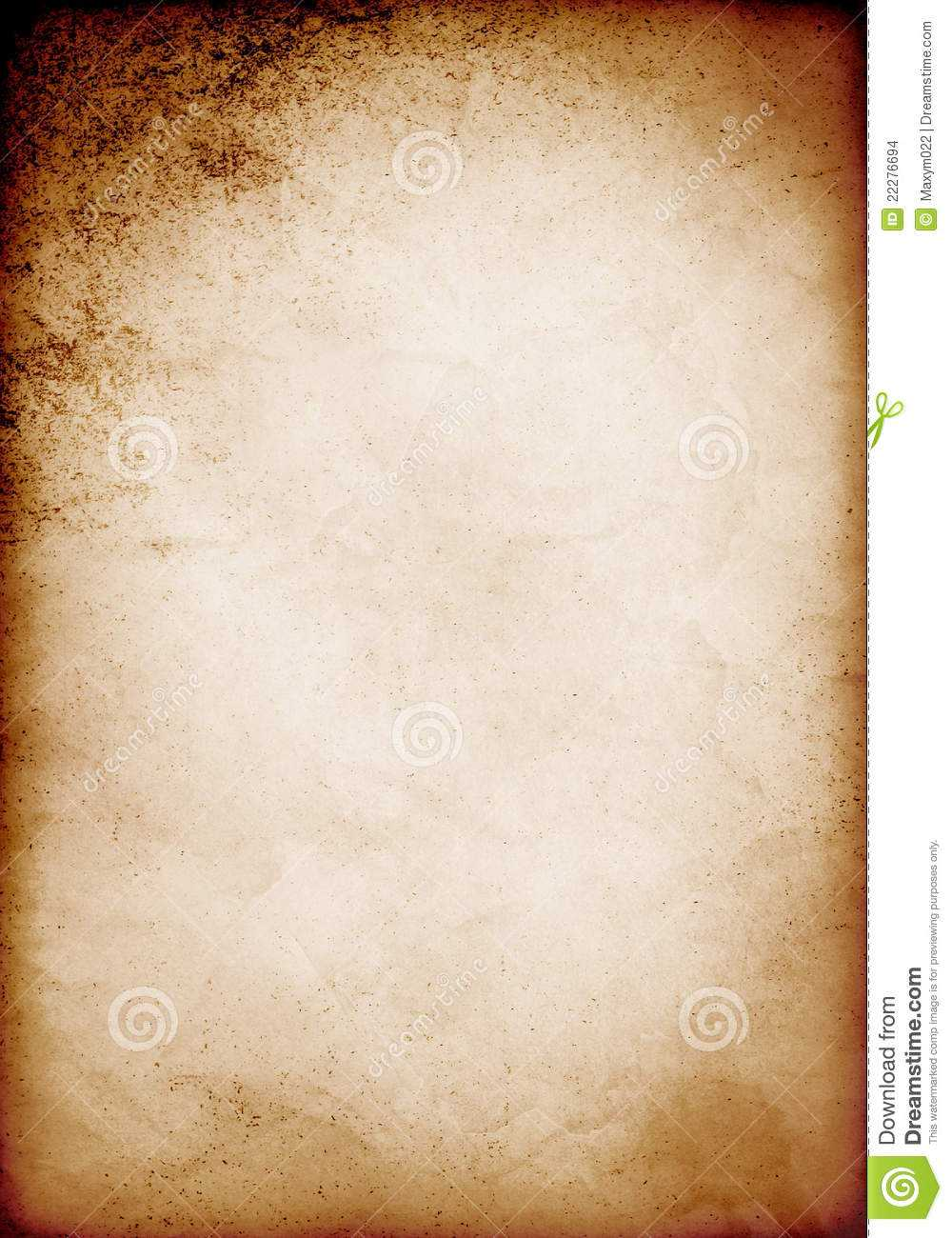20 Old Paper Template For Word Images - Old Scroll Paper With Scroll Paper Template Word