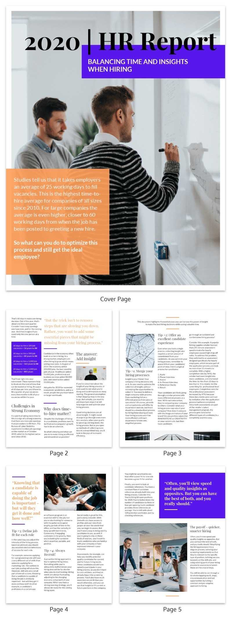 20+ Page Turning White Paper Examples [Design Guide + White In White Paper Report Template