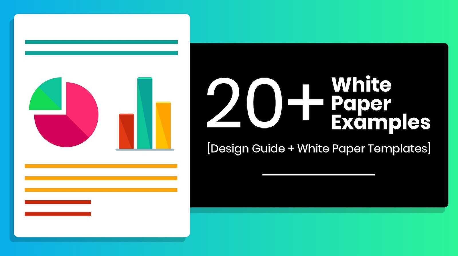 20+ Page Turning White Paper Examples [Design Guide + White Inside White Paper Report Template