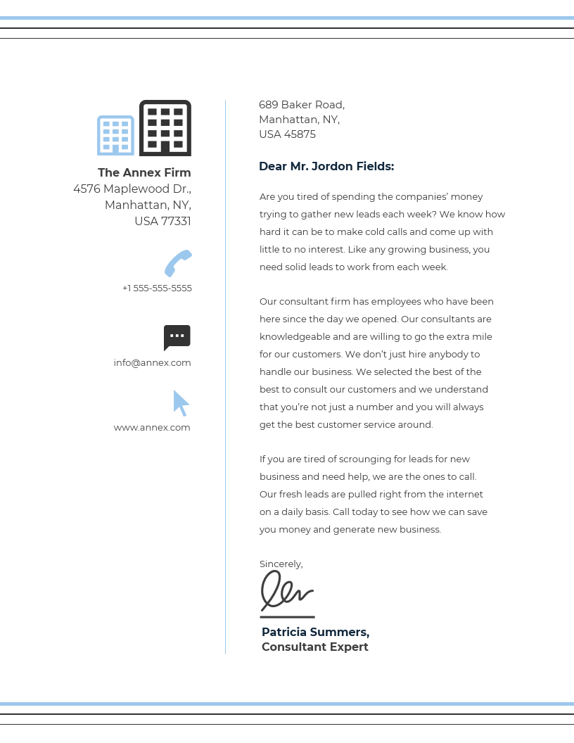 20+ Professional Business Letterhead Templates And Branding Regarding Headed Letter Template Word