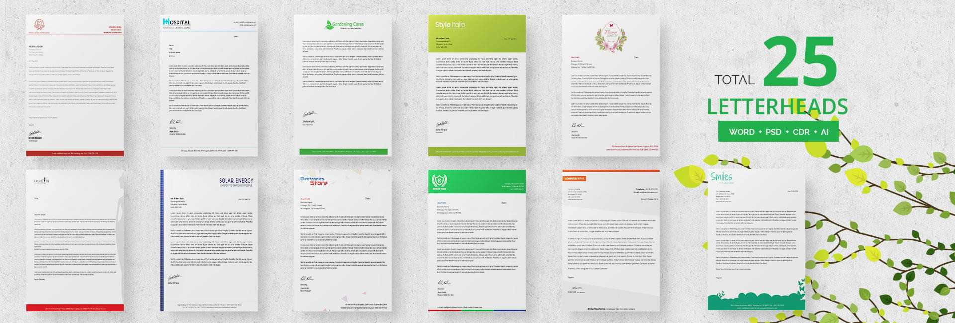 24+ Free Letter Head Templates – Education, Architecture Throughout Headed Letter Template Word