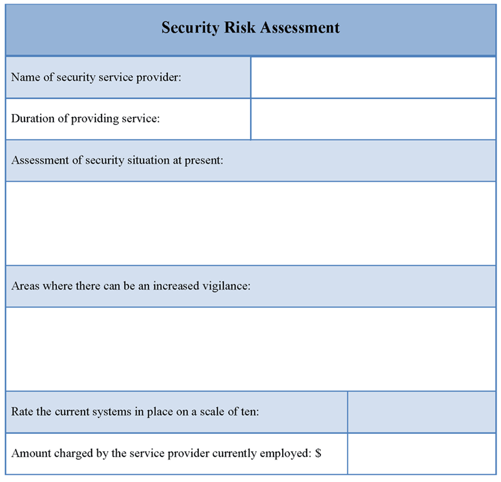 27 Images Of Security Assessment Report Sample Template Inside Physical Security Risk Assessment Report Template