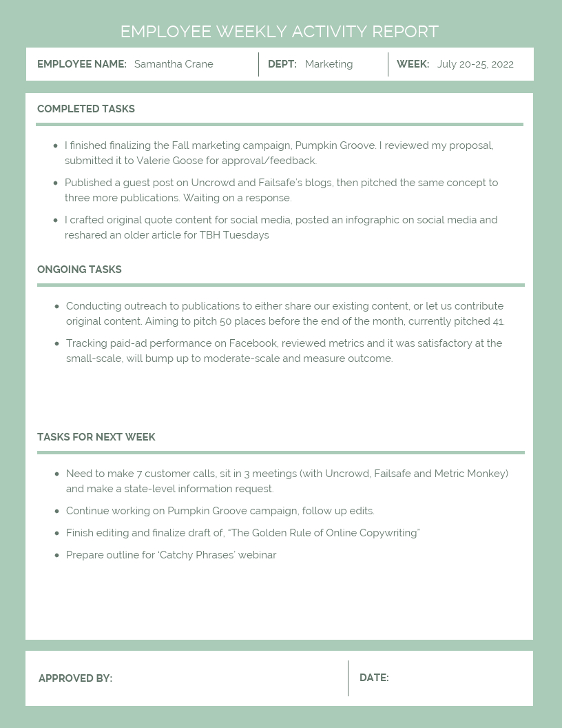 30+ Business Report Templates Every Business Needs – Venngage In Report Content Page Template