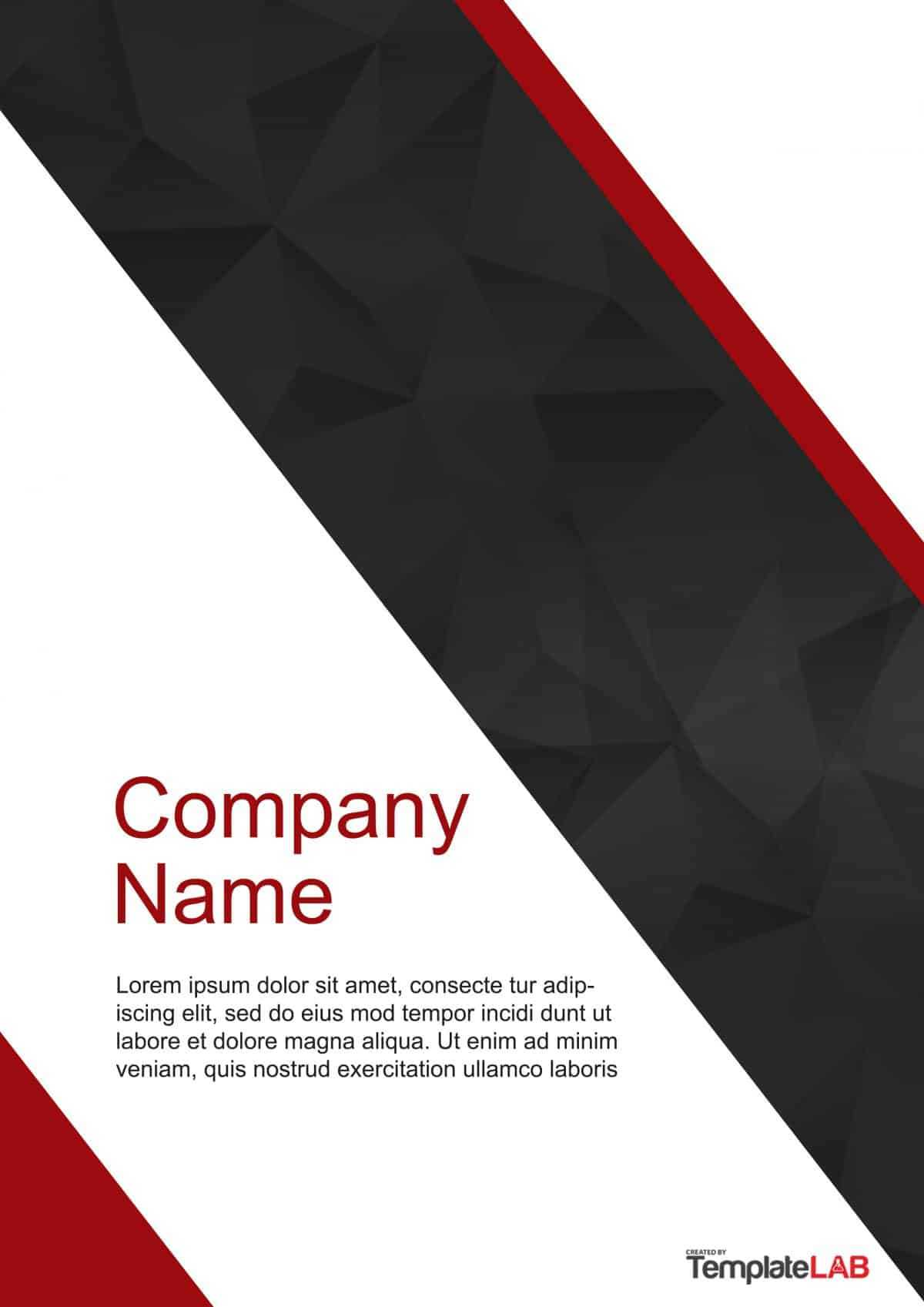 39 Amazing Cover Page Templates (Word + Psd) ᐅ Template Lab Within Microsoft Word Cover Page Templates Download