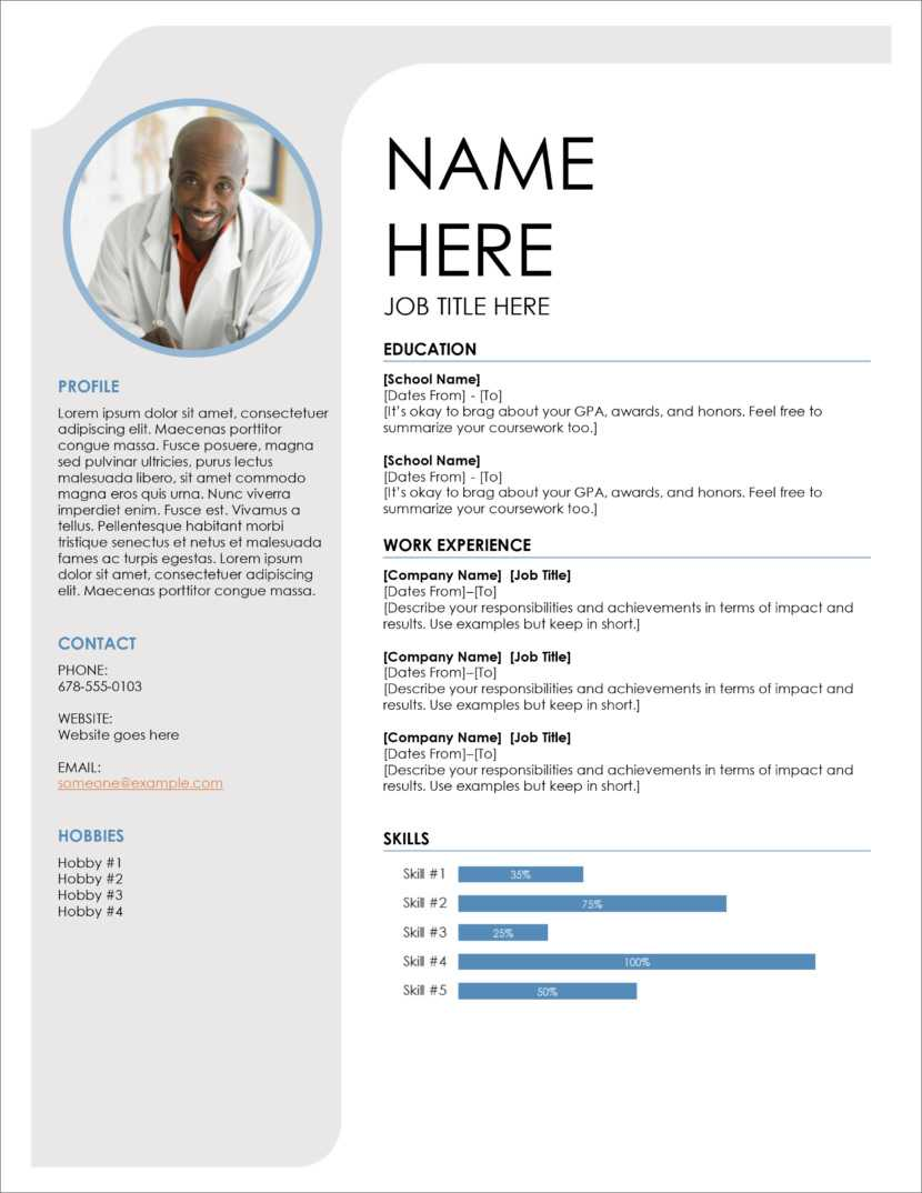 45 Free Modern Resume / Cv Templates - Minimalist, Simple Pertaining To Free Downloadable Resume Templates For Word