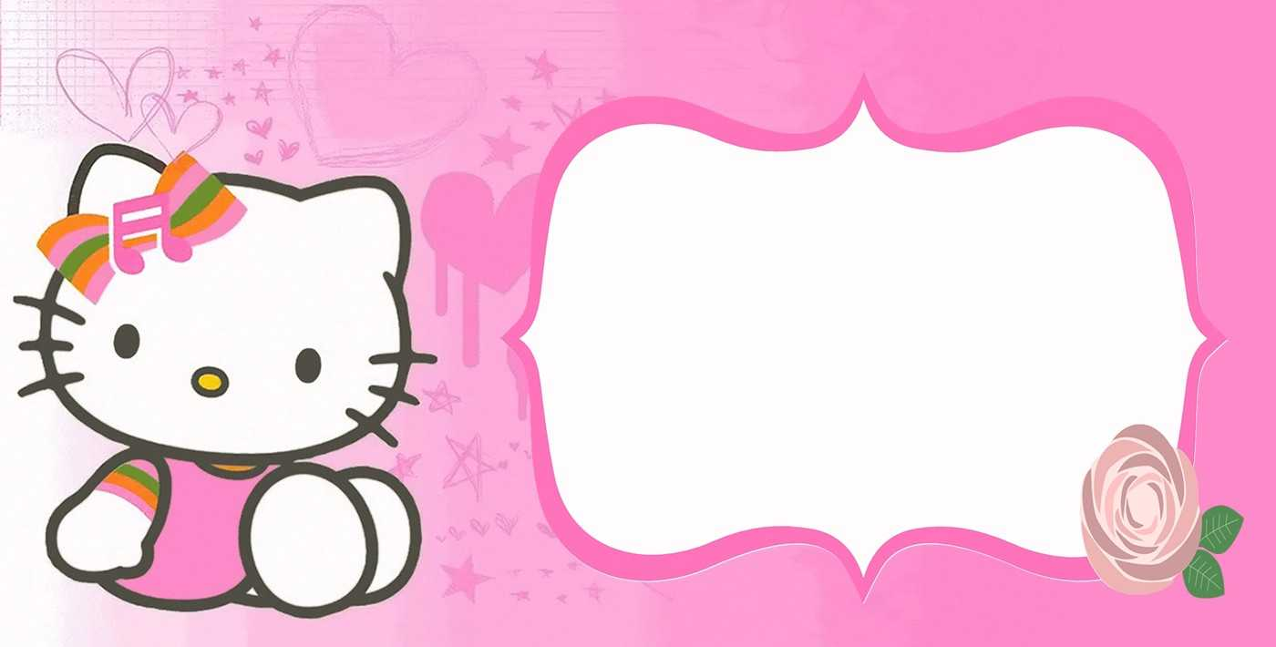 4744 Hello Kitty Free Clipart - 7 Inside Hello Kitty Banner Template