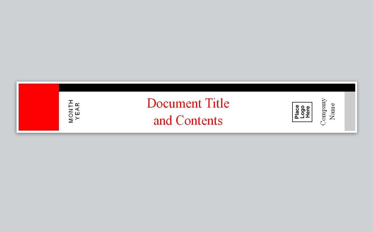 Avery Binder Spine Inserts Template – Horizonconsulting.co Intended For 3 Inch Binder Spine Template Word