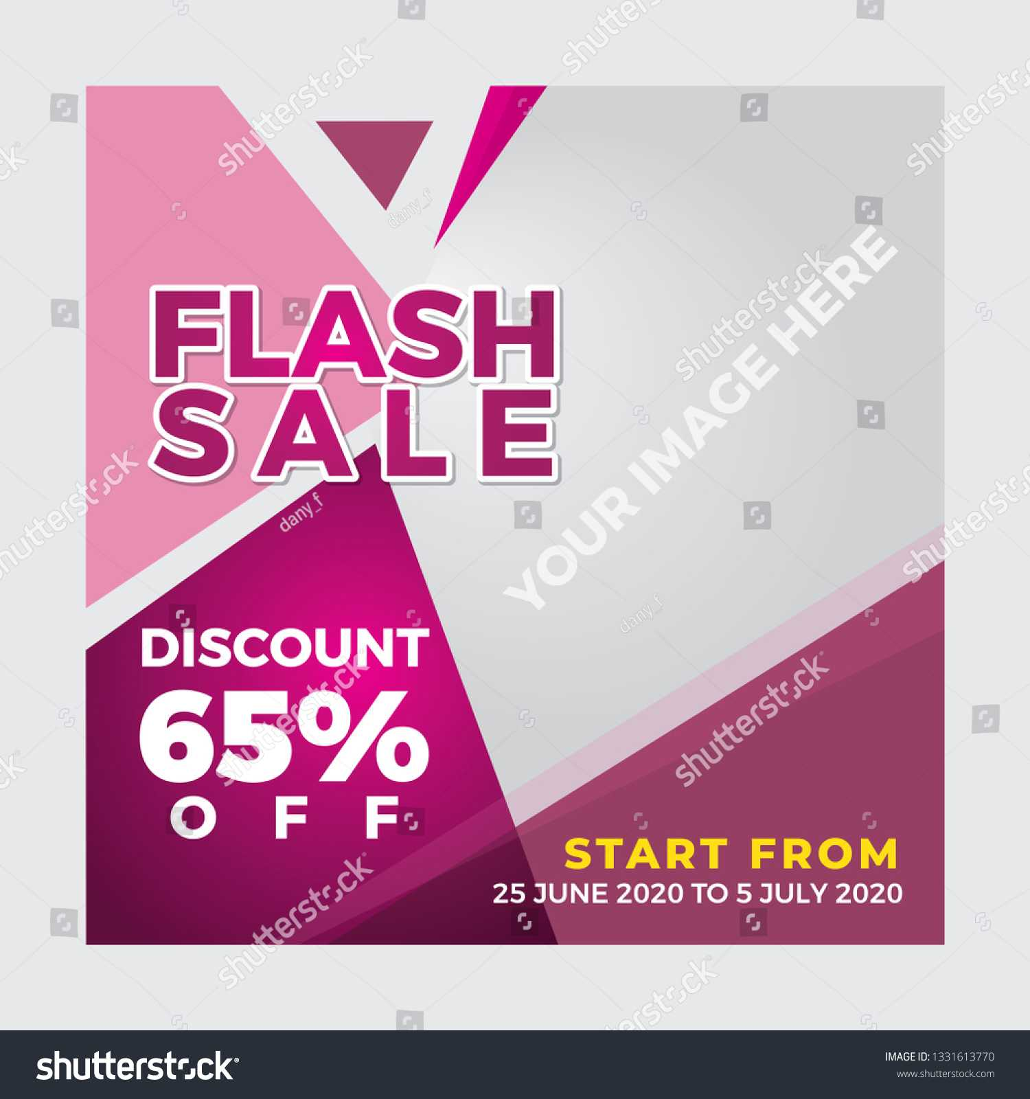 Banner Template Fashion Cosmetic Product Stock Vector Within Product Banner Template