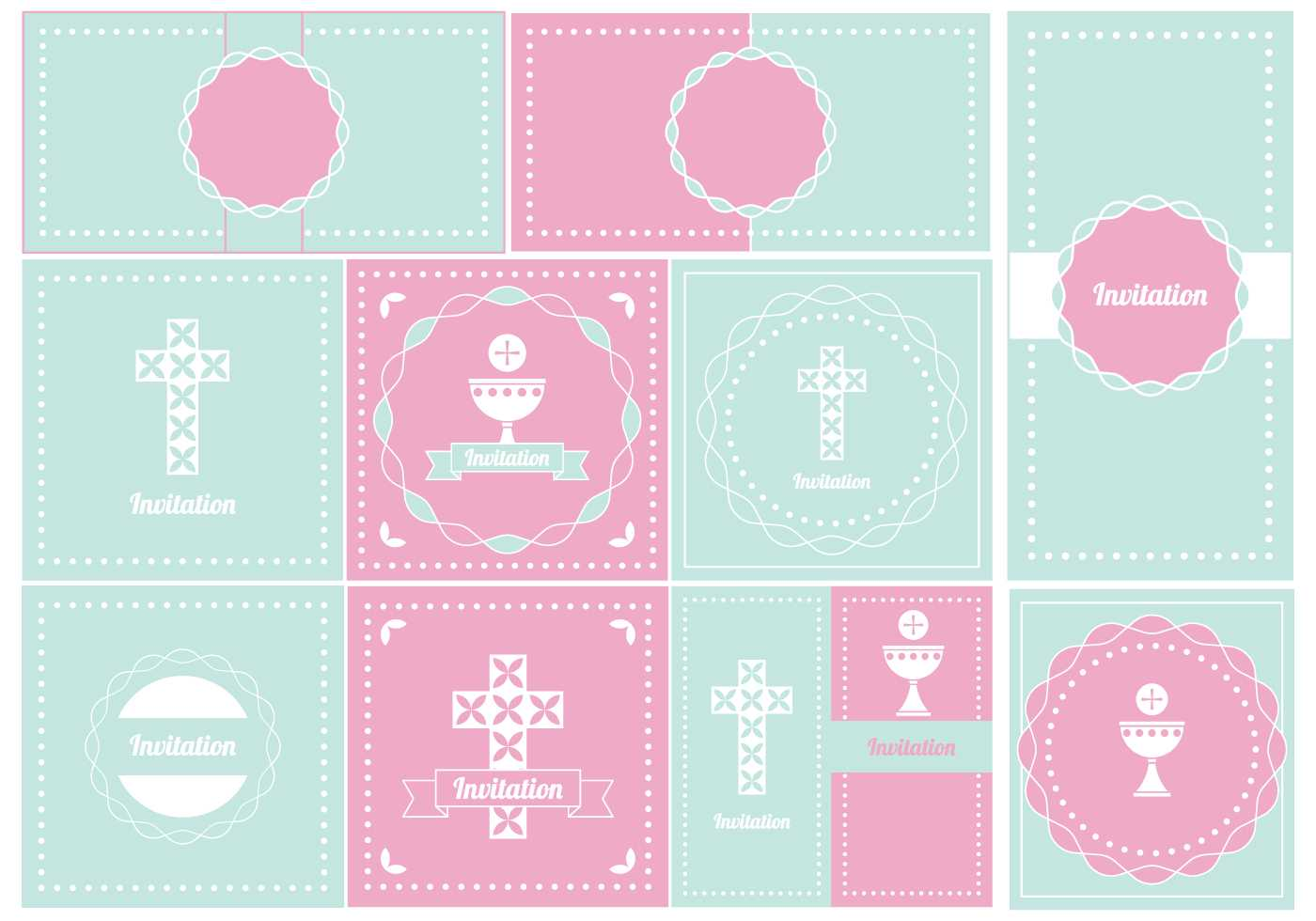 Baptism Banner Free Vector Art - (29 Free Downloads) Throughout Christening Banner Template Free