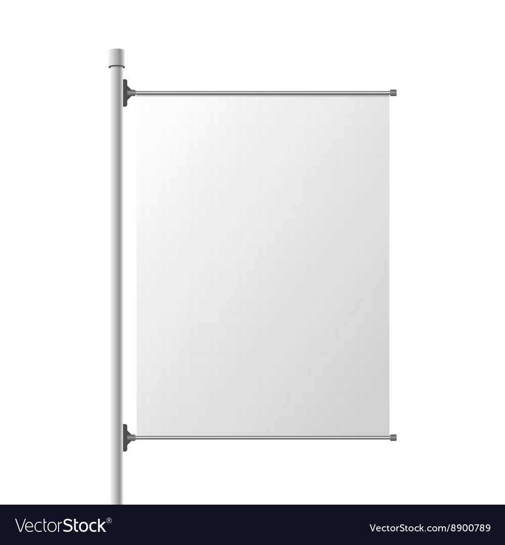 Big Street Banner Realistic Template Intended For Street Banner Template