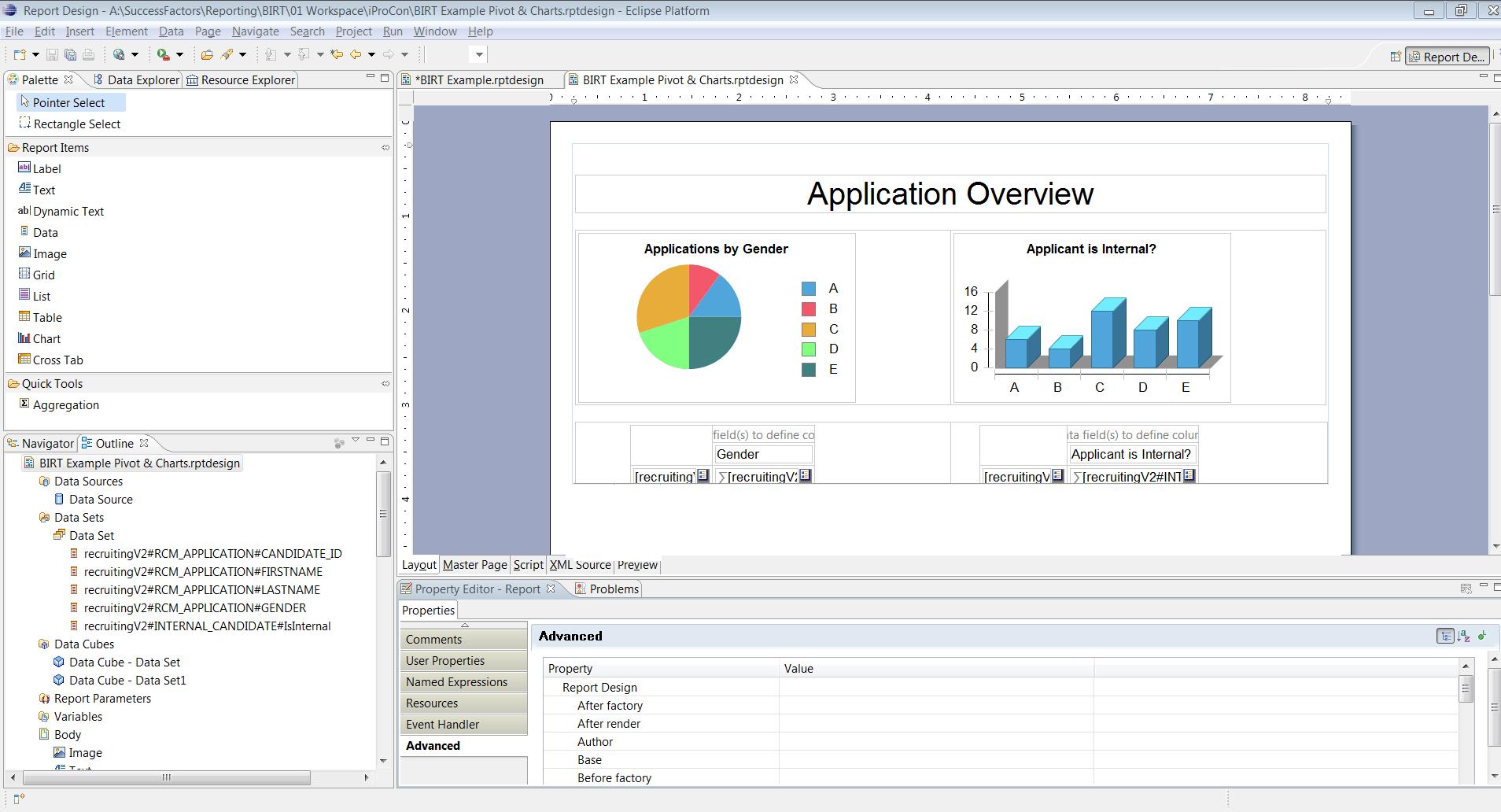 Birt Report Templates In Sap Successfactors – Part 3 - Ixerv With Regard To Birt Report Templates