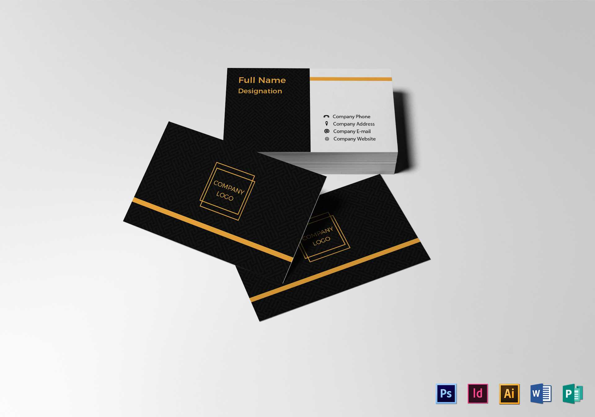 Blank Business Card Template Throughout Blank Business Card Template Photoshop