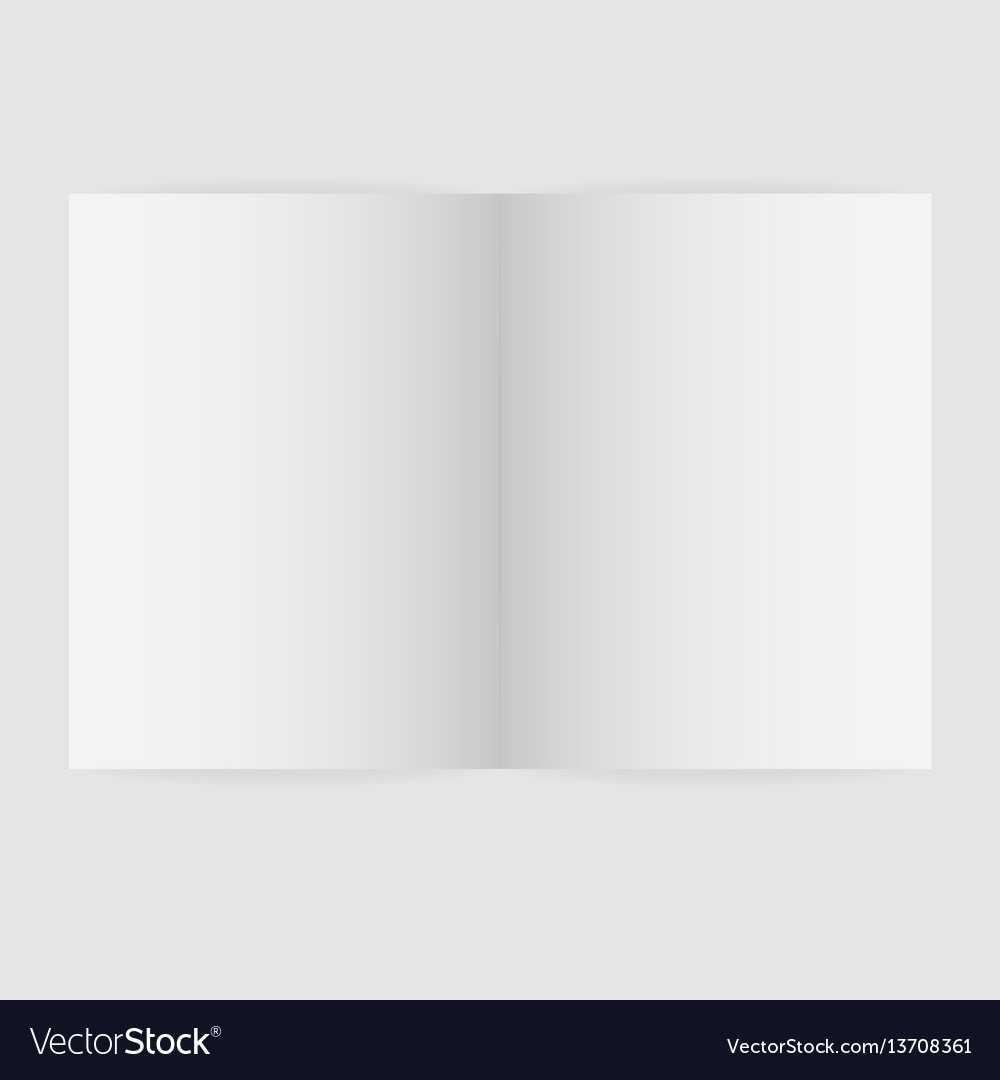 Blank Magazine Spread Template Pertaining To Blank Magazine Spread Template
