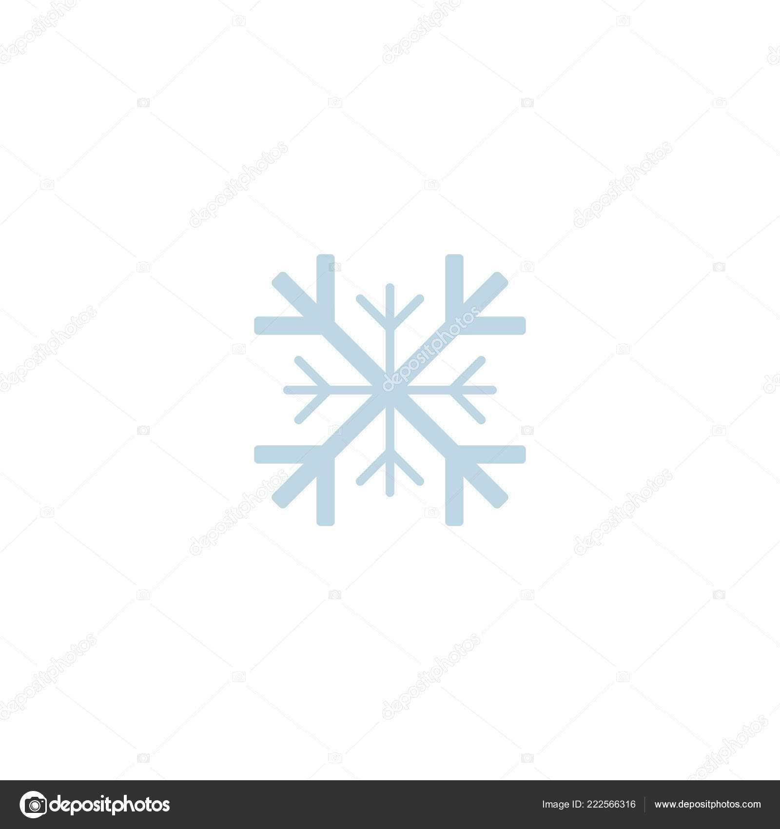 Blank Snowflake Template   Snowflake Icon Template Christmas For Blank Snowflake Template