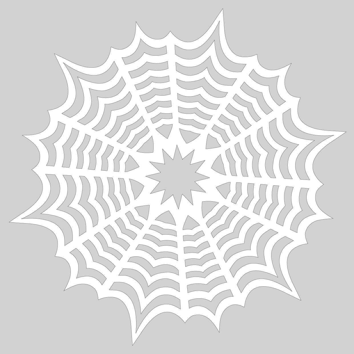 Blank Template To Draw A Pattern For Paper Snowflake   Free In Blank Snowflake Template