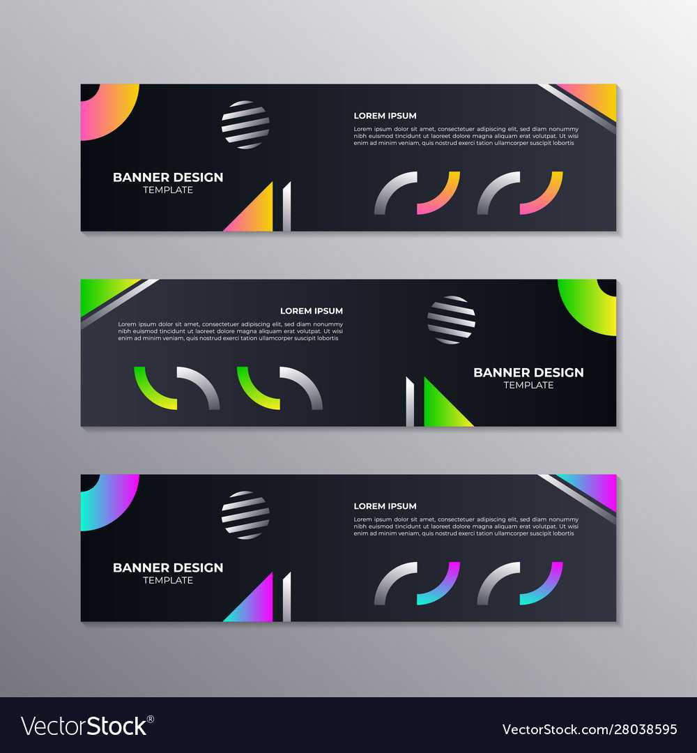 Business Banner Template Minimal Design Geometric With Product Banner Template