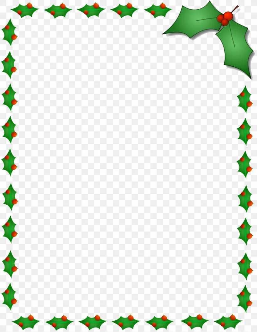 Christmas Santa Claus Microsoft Word Template Clip Art, Png With Christmas Border Word Template