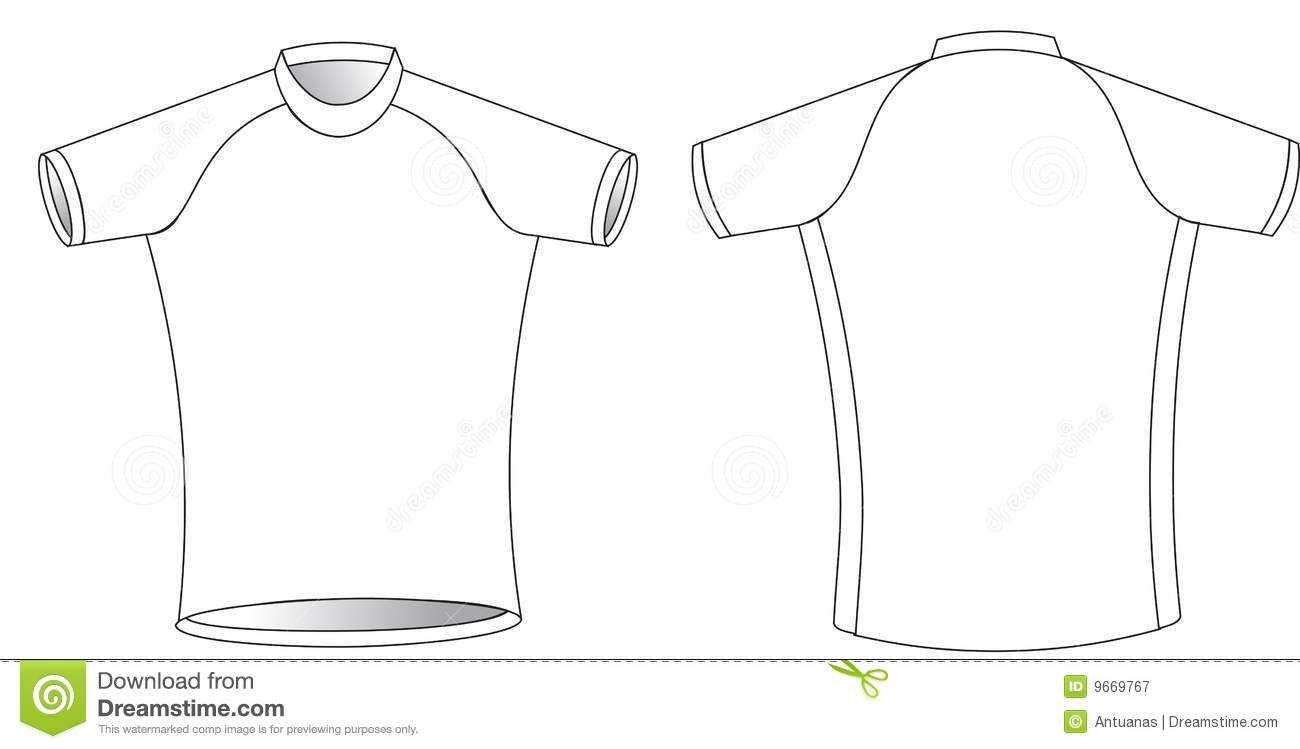 Cycling Jersey Stock Vector. Illustration Of Graphic, Simple Within Blank Cycling Jersey Template