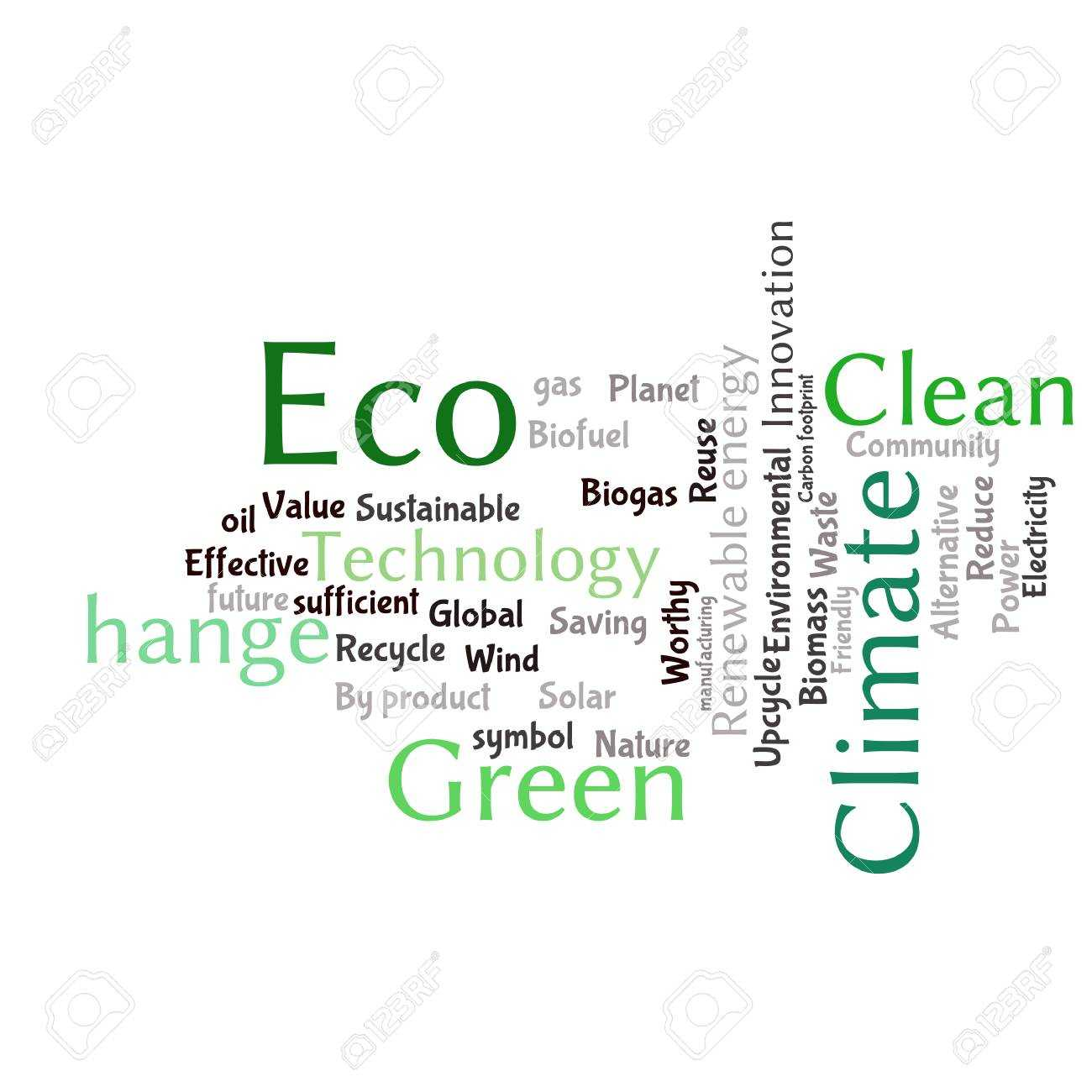 Ecology Earth Concept Word Collage. Environmental Poster Design.. Within Free Word Collage Template